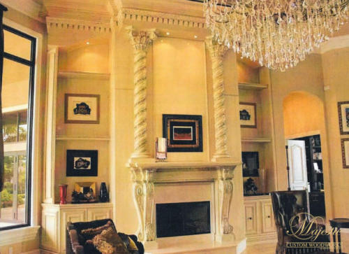 Majestic Custom Fireplace