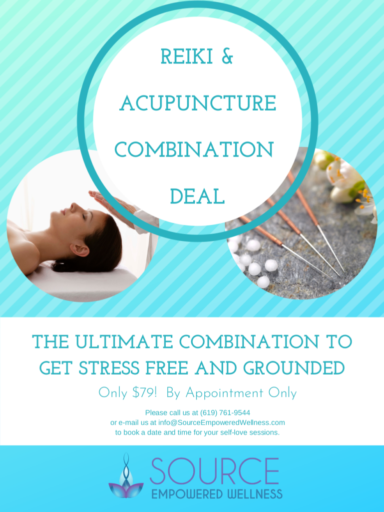 reiki and acupuncture combination deal