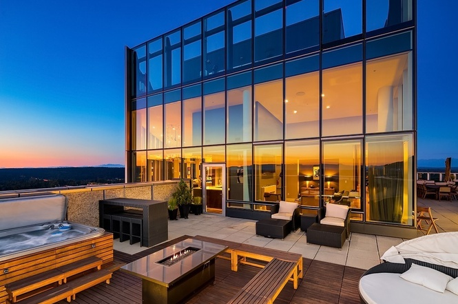 Bellevue Towers Penthouse Most Expensive Home Sold Downtown Bellevue 2018