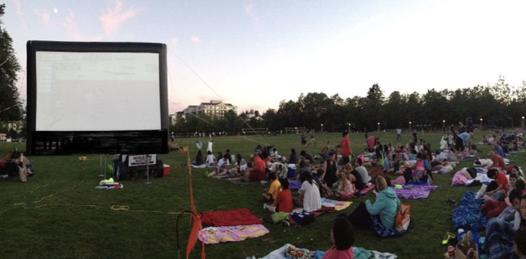 Downtown Bellevue Movie Nights in the Park