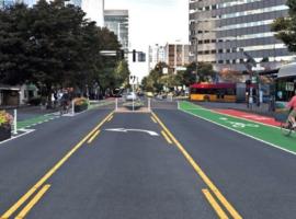 Downtown Bellevue Bike Lanes
