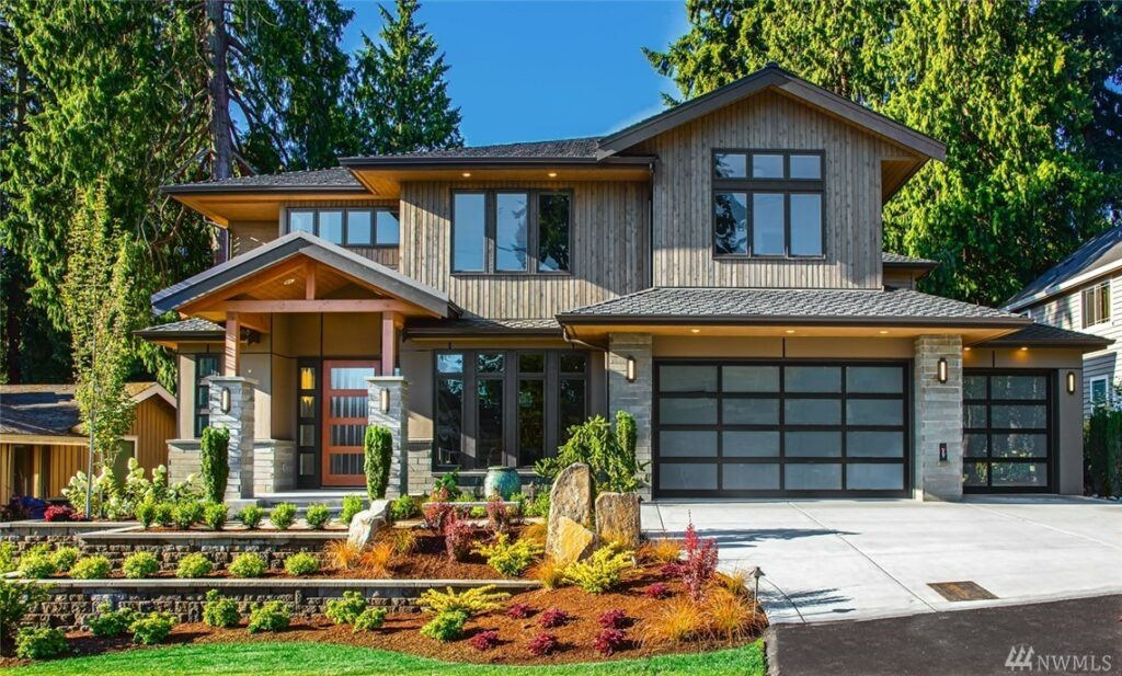 West Bellevue Contemporary Home for Sale