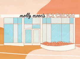 Molly Moon's Rendering of New Bellevue Ice Cream Shop