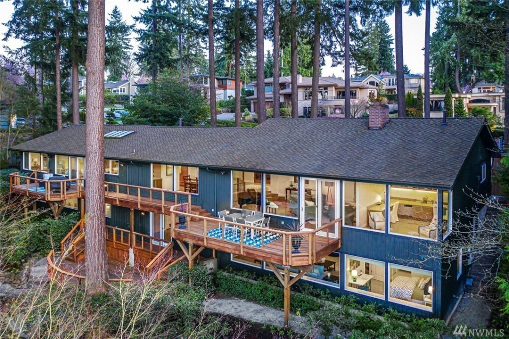 Clyde Hill Northwest Style - Home for Sale