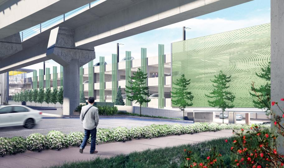 South Bellevue Park-and-Ride garage to open