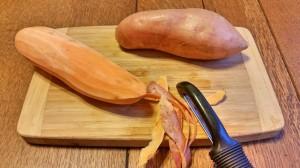 Sweet Potatoes Peeled soup