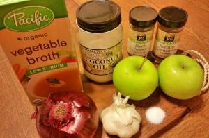 ingredients butternutsquash soup