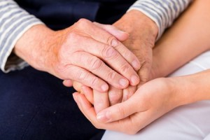 my mother's hands - caregiving