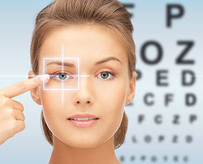 Image ID: 34710495 Copyright 123RF face with eye chart