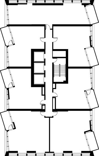 Floor Plan (Even FLoors)