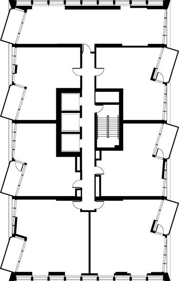 Floor Plan (Odd FLoors)
