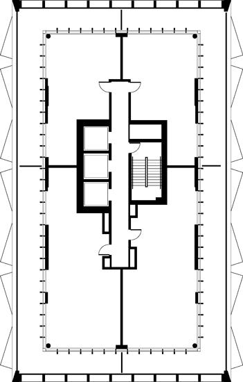 Floor Plan (Penthouses FLoor)