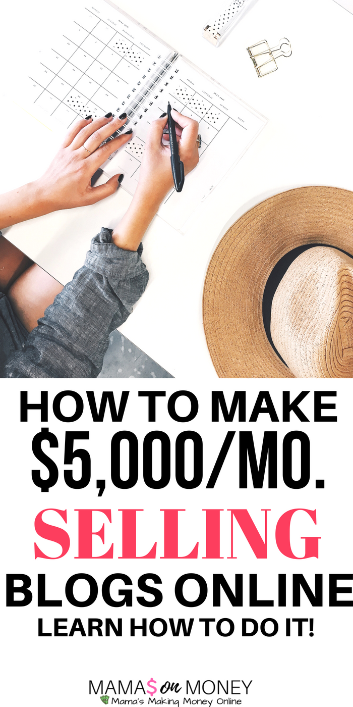 How to Make Up To $5,000/Month Selling Blogs