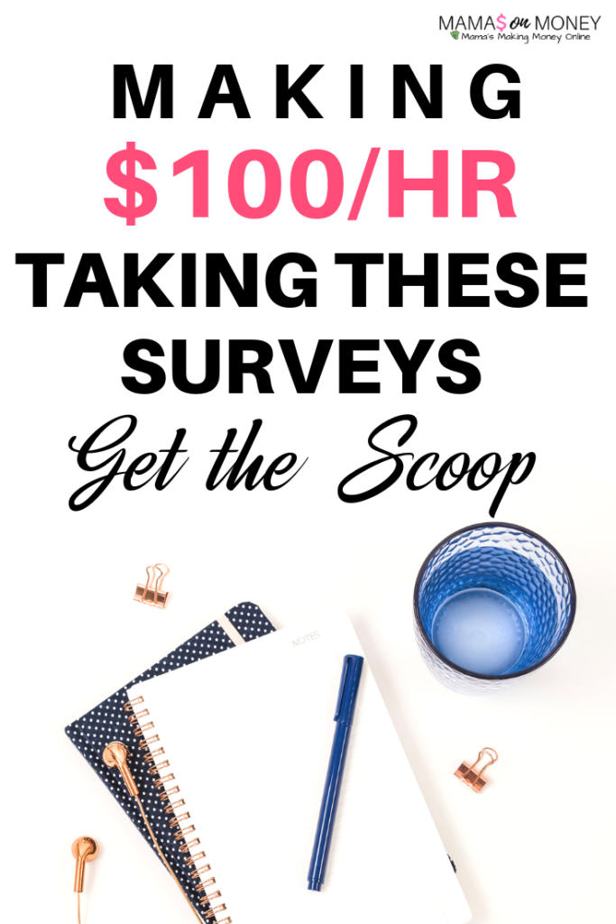 Make $100hour taking surveys