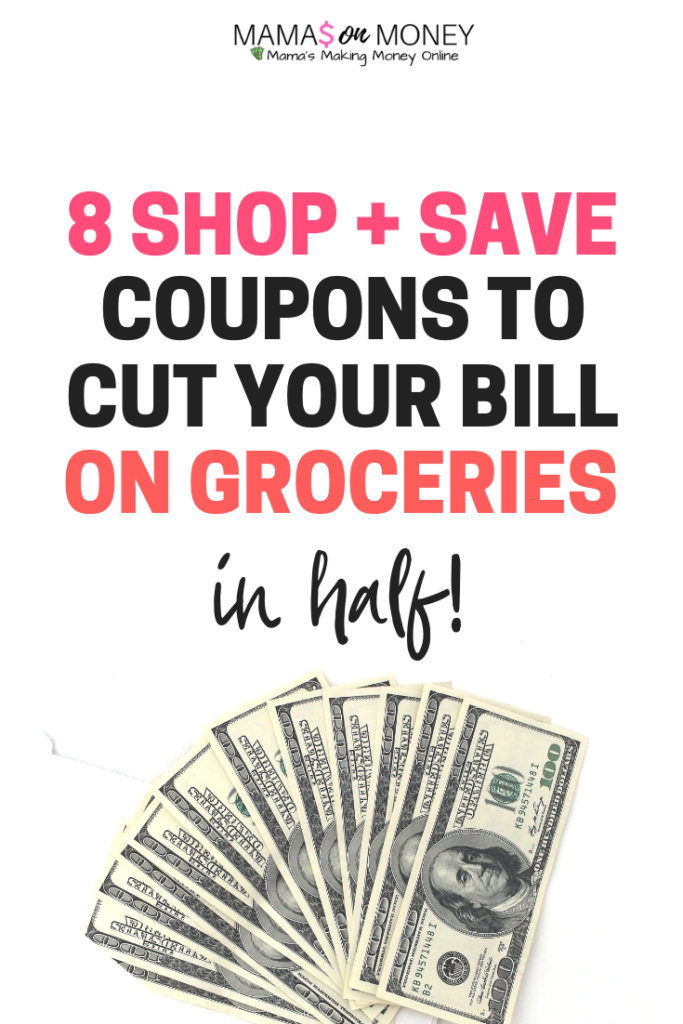 8 Shop and Save Coupons To Cut Your Grocery Bill in Half