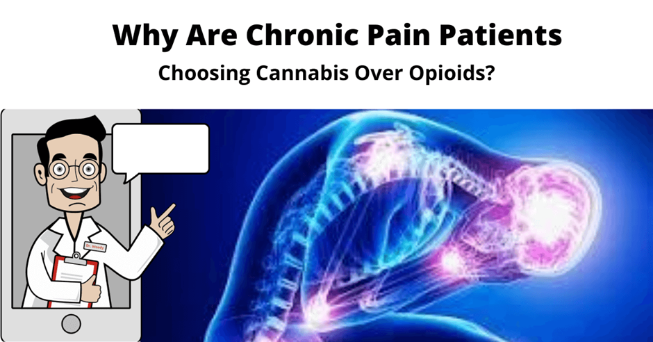 Why Are Chronic Pain Patients Choosing Cannabis Over Opioids?