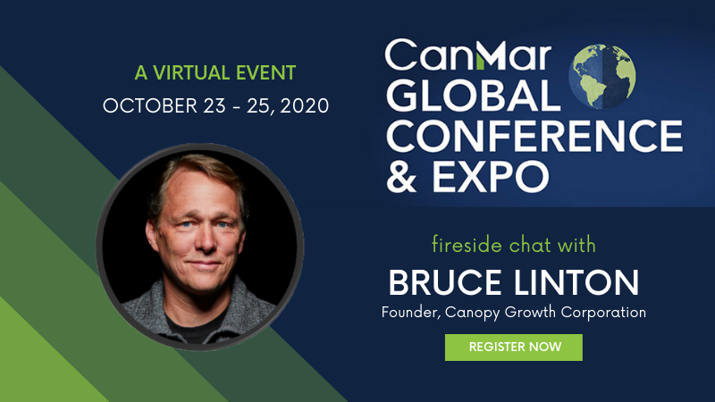 Bruce Linton joins CanMar Global Conference and Expo 2020
