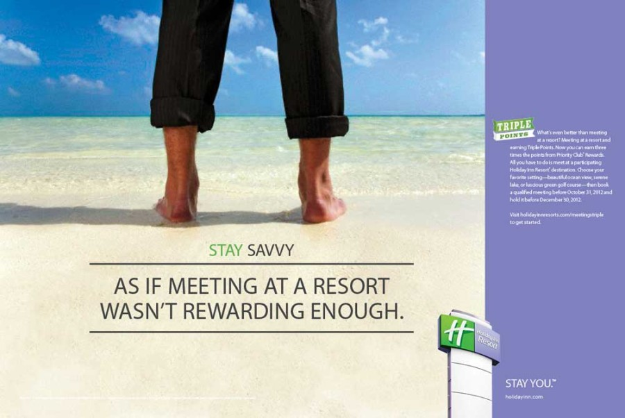 Meeting attendees love the exotic locations of  Holiday Inn Resorts