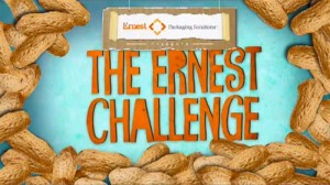 Typical title design for The Ernest Challenge web video series.