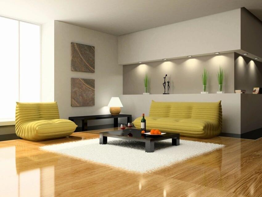 chic city living room