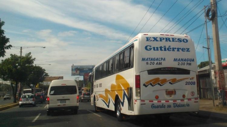 Principales terminales de transporte interurbano de Managua