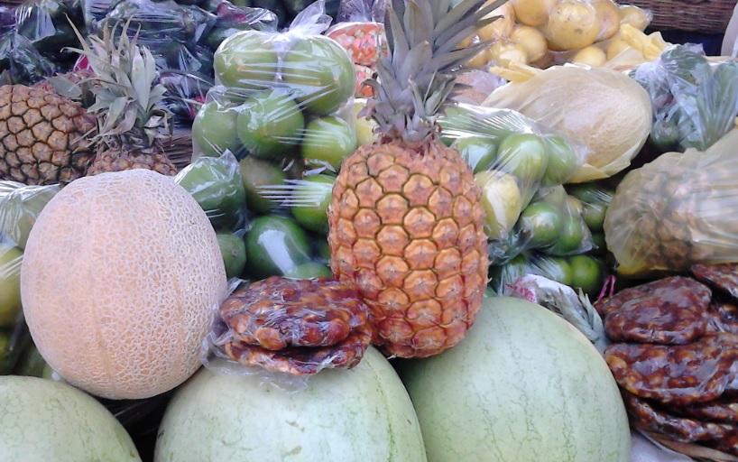 Las frutas en Managua