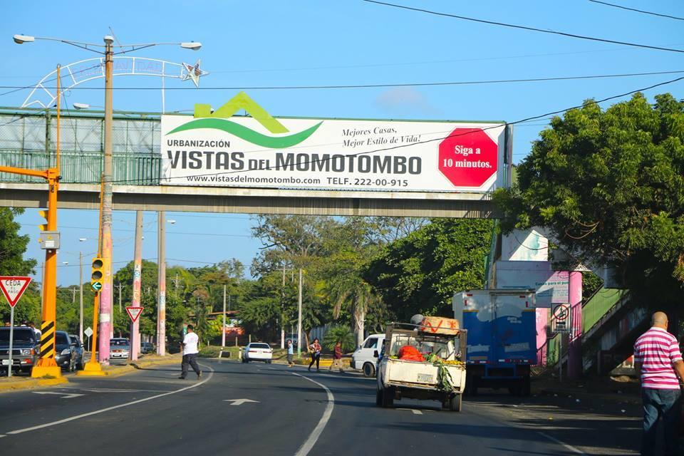 Carretera Nueva a León el nuevo Polo de desarrollo urbanístico en Managua