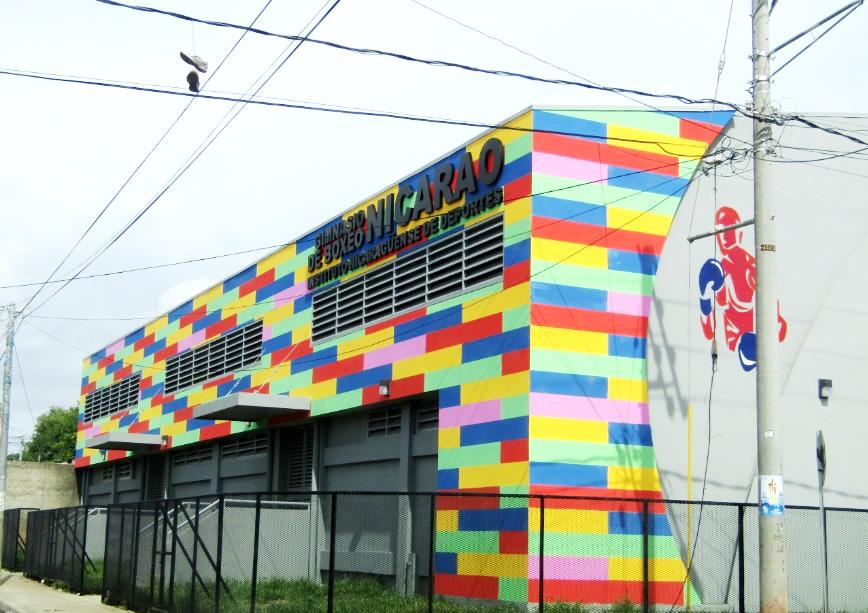 Nuevo Gimnasio de Boxeo Nicarao en Managua