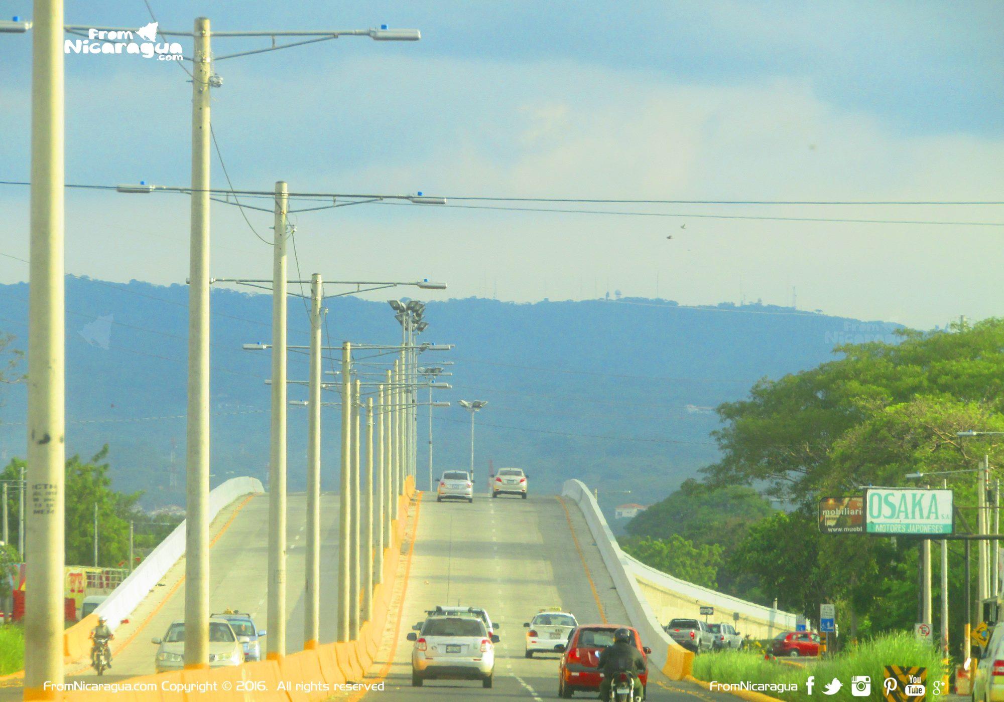 Managua tendrá más pasos a desnivel en los próximos tres años