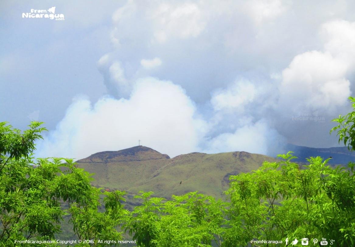 Cerro El Ventarron en Ticuantepe Managua