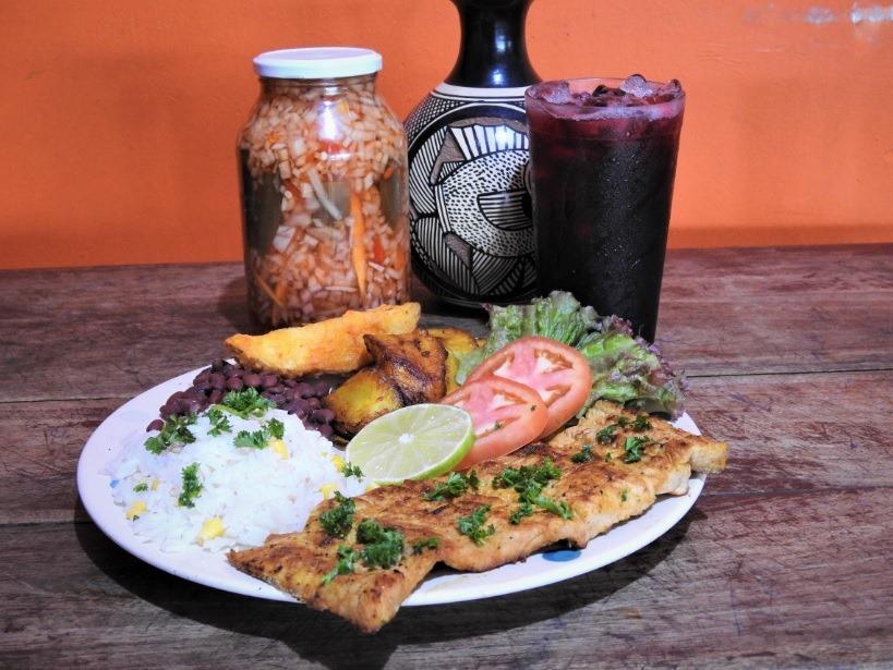 Dónde almorzar súper delicioso en Managua