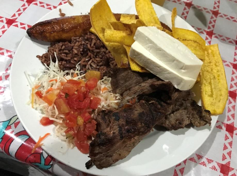 ¿Cuánto cuesta hacer carne asada en Nicaragua?