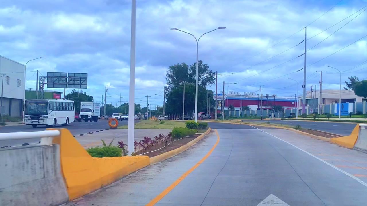 Batahola Sur con nueva pista y desvió en Managua