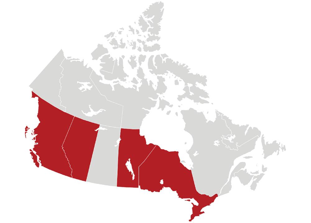 Kenneth Park Architects Canadian License Region