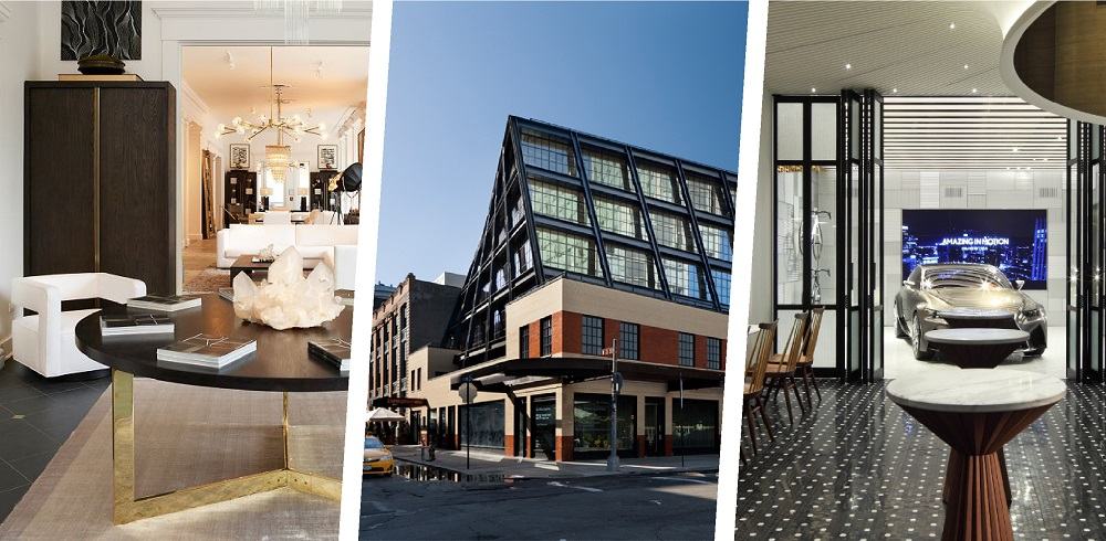 1/ Image by Restoration Hardware, 2/ Image by Alexander Severin & Morris Adjmi Architects, 3/ Image by Lexus