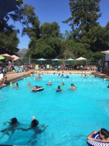 Redwood Estates Pool July 2017