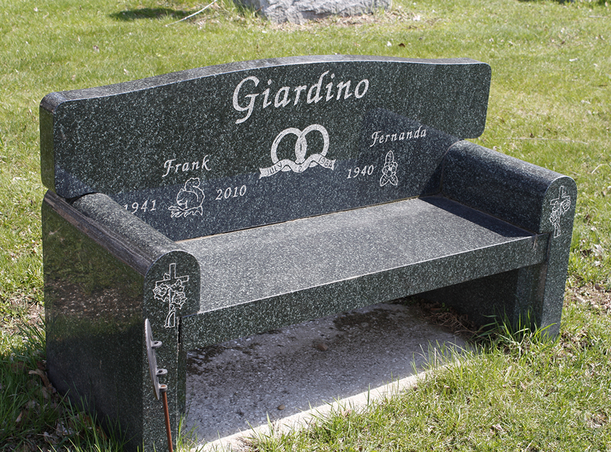 Giardino green couch style bench.jpg