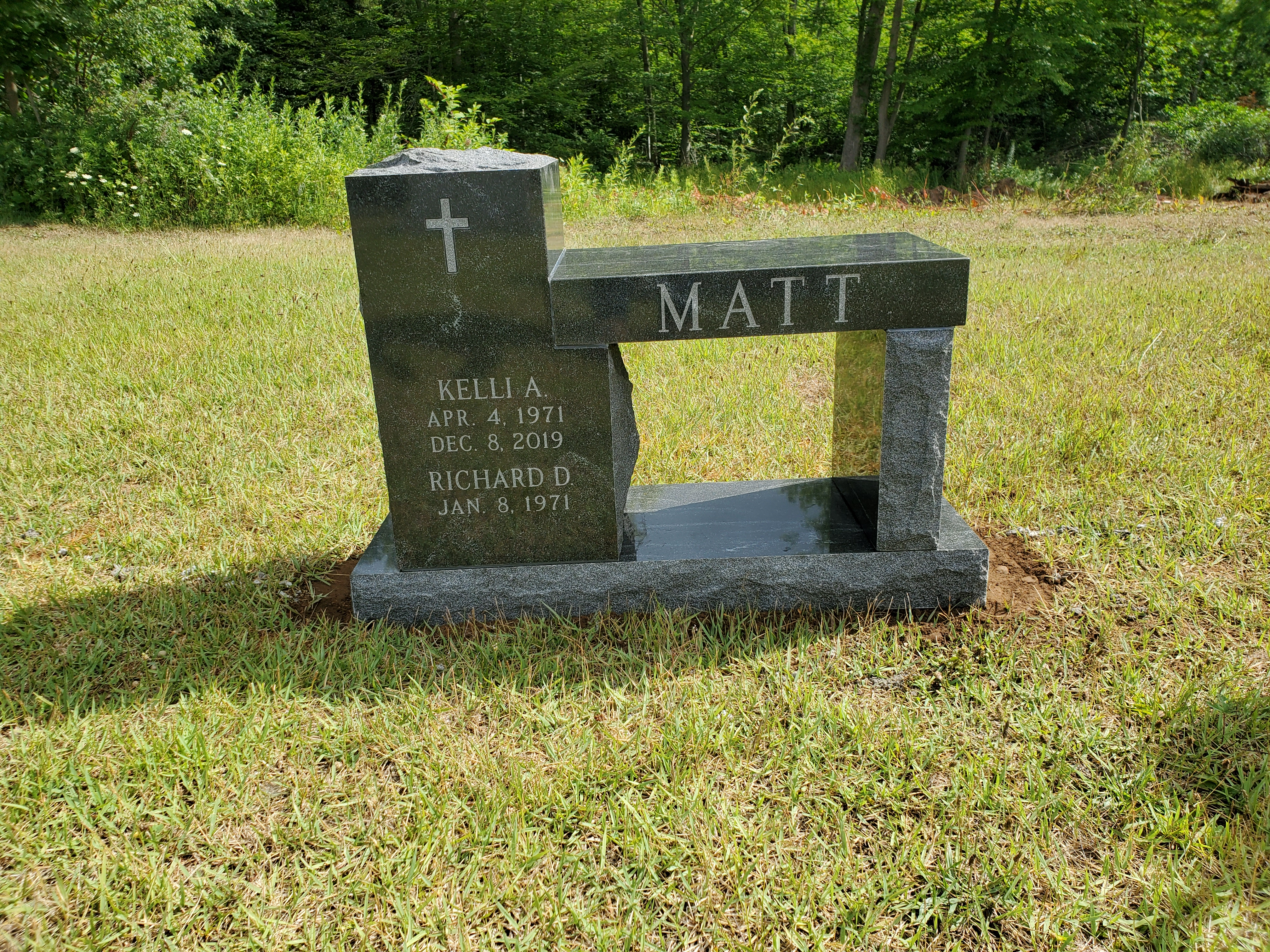 Matt-Black-Bench
