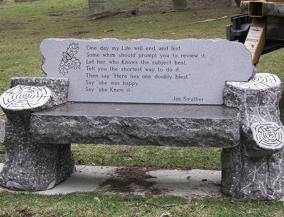 Witherill-brown-rustic-log-bench-memorial.JPG