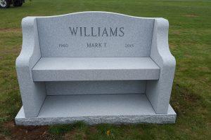 Williams-gray-bench