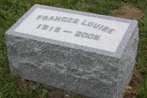 Frances granite matching marker.JPG