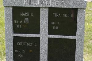Plumley Gray Black Collumbarium.JPG