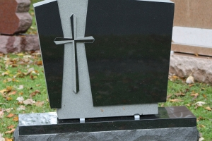 cemetery-memorial-with-cross