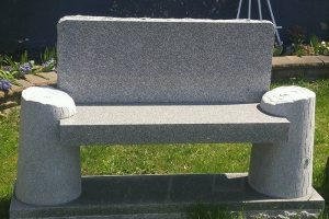 imperial gray bench