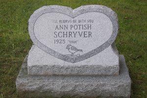Schryver Gray Heart Slant Base.JPG