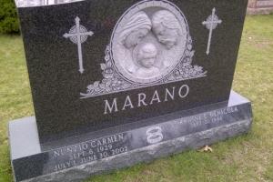 Marano Black Sculpted Religious Upright (2002).jpg