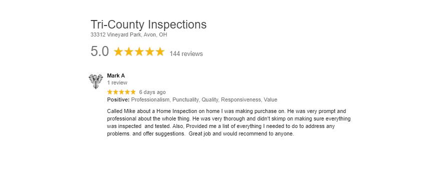 Brook Park Home Inspector in Cleveland