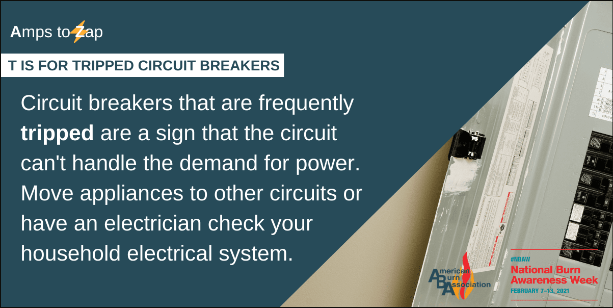 T is for Tripped Circuit Breakers