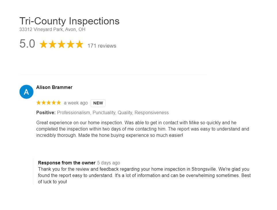 Strongsville Home Inspector