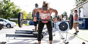 Compete Every Day female working out